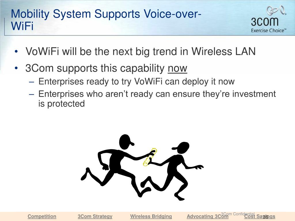 Mobility System Supports Voice-over-WiFi