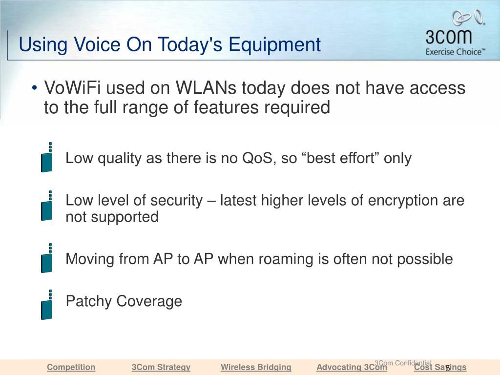 Using Voice On Today's Equipment