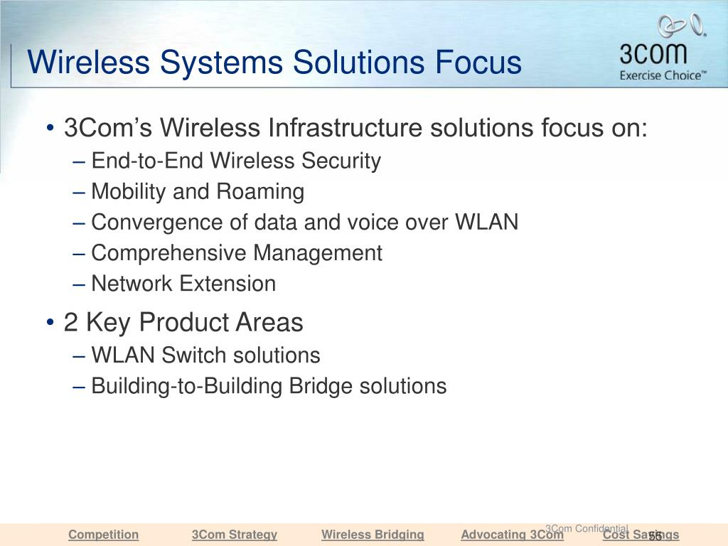 Wireless Systems Solutions Focus