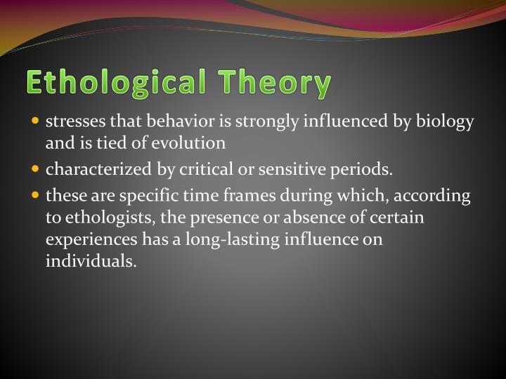 PPT - Konrad Lorenz's Ethological Theory PowerPoint