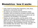 biometrics how it works