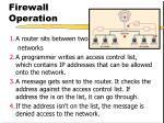 firewall operation27