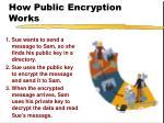 how public encryption works