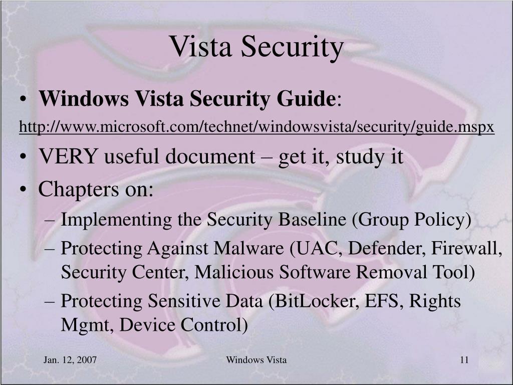 Vista Security