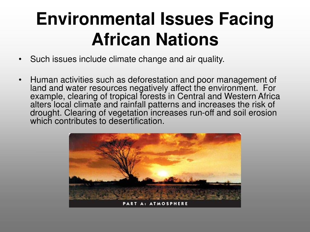 Environmental Issues Facing African Nations
