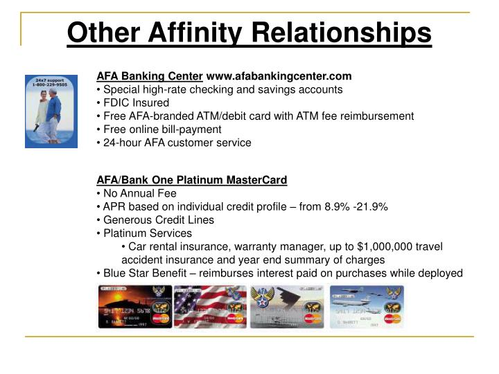 Other Affinity Relationships