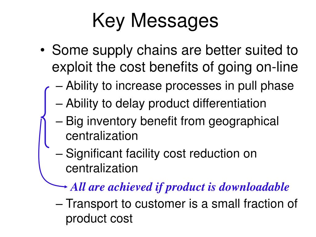All are achieved if product is downloadable