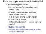 potential opportunities exploited by dell