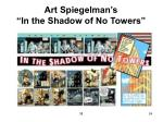 art spiegelman s in the shadow of no towers