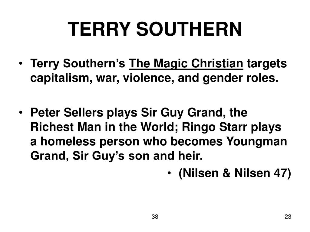 TERRY SOUTHERN