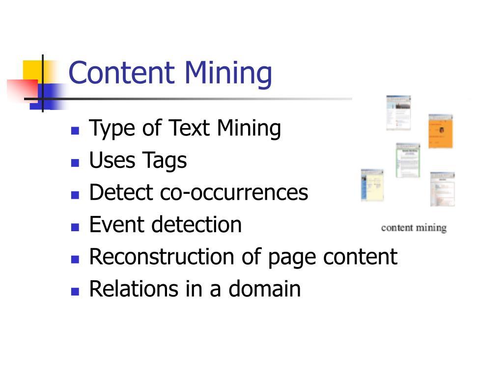 Content Mining