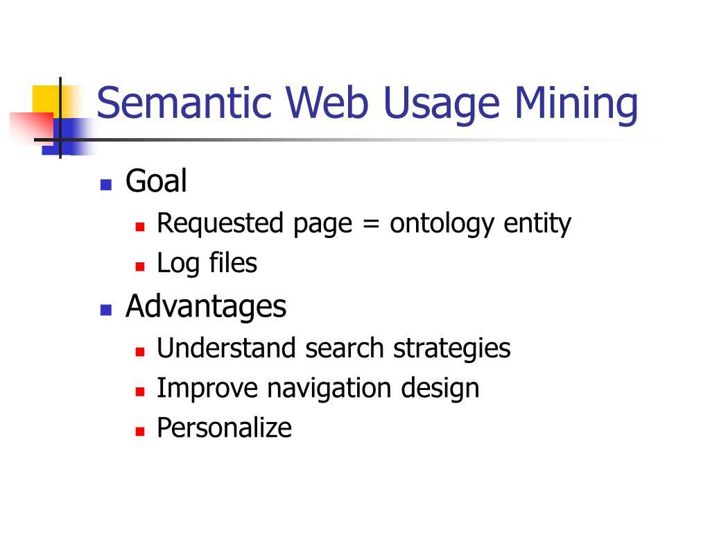 Semantic Web Usage Mining