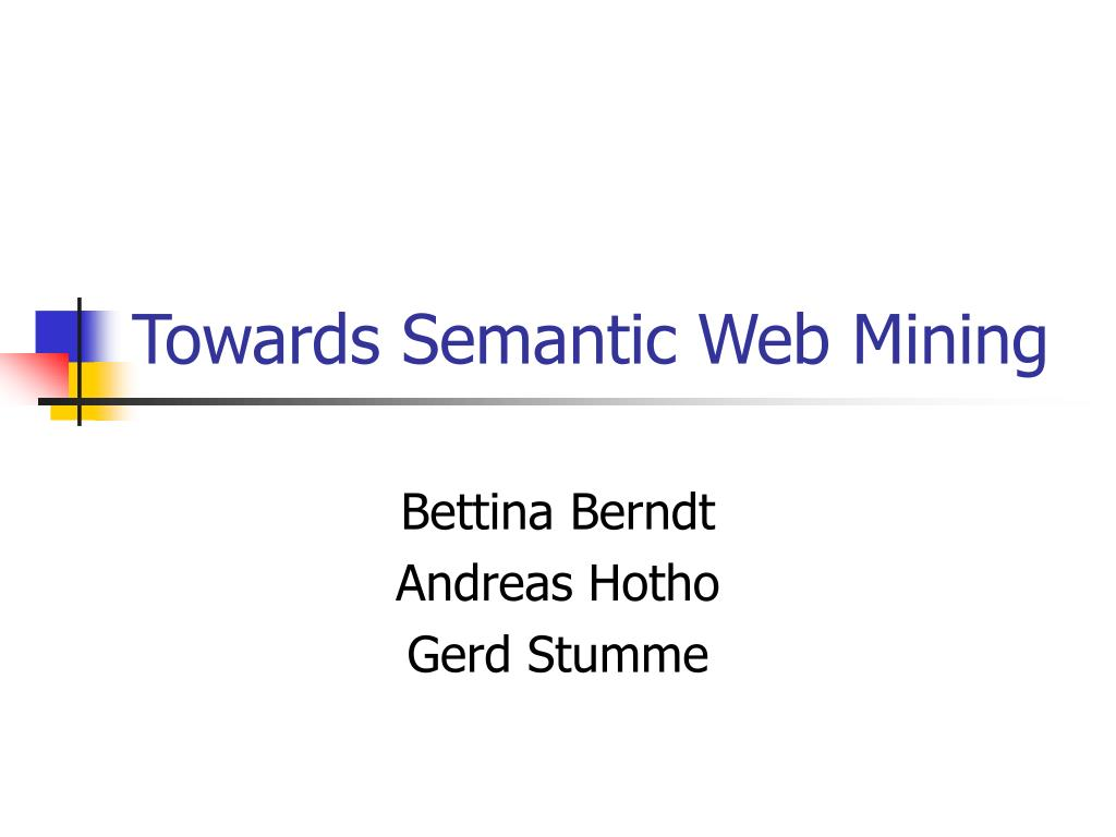 towards semantic web mining