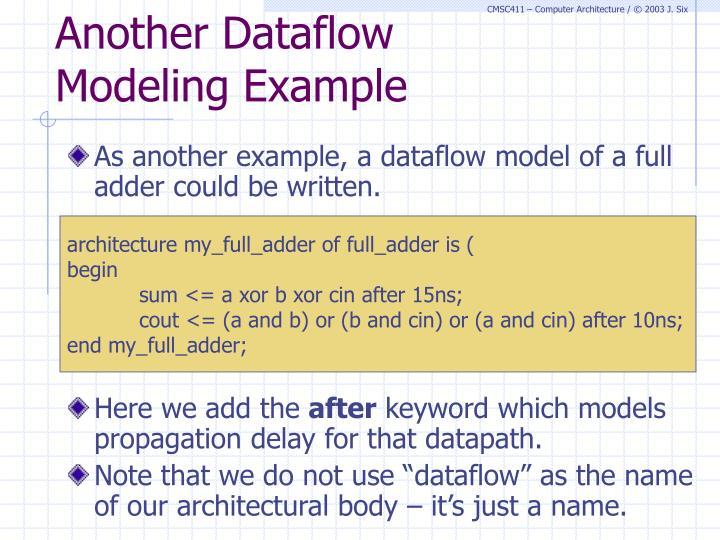 Another Dataflow