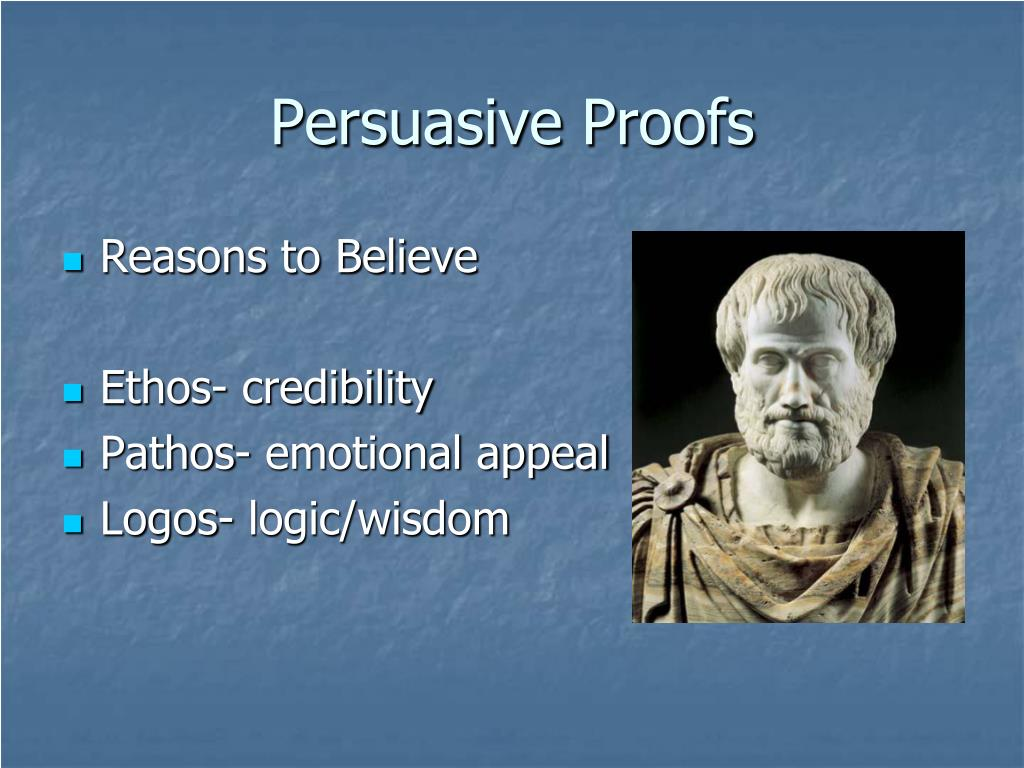 Persuasive Proofs