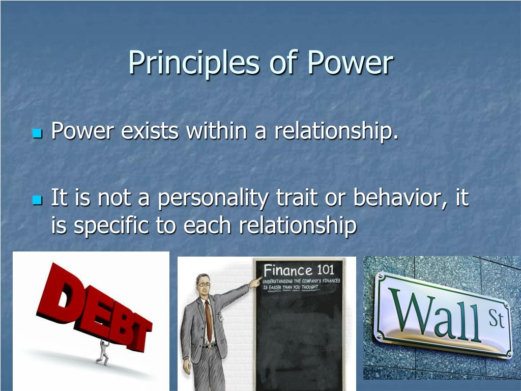 Principles of Power