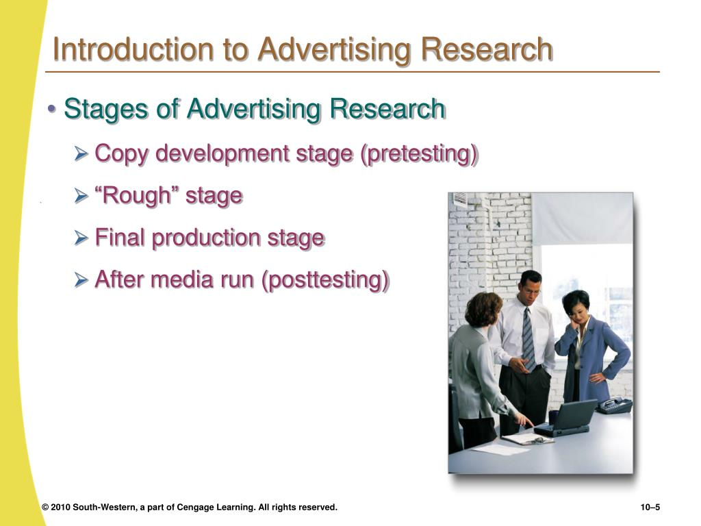 Introduction to Advertising Research
