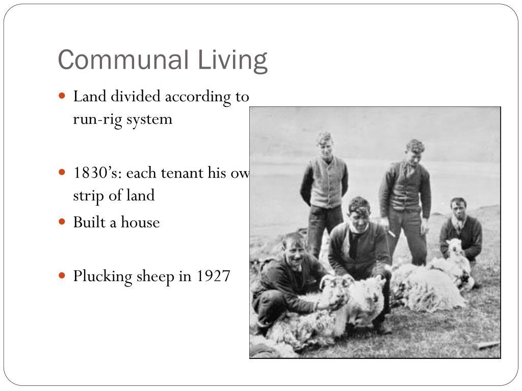 Communal Living