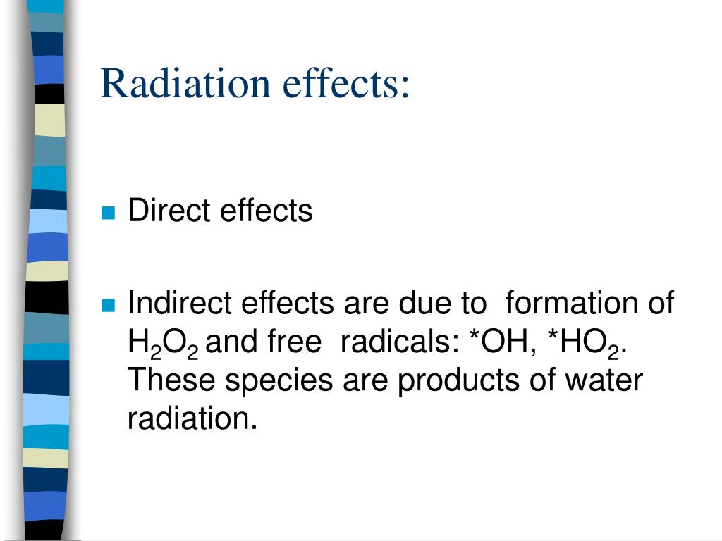 Radiation effects: