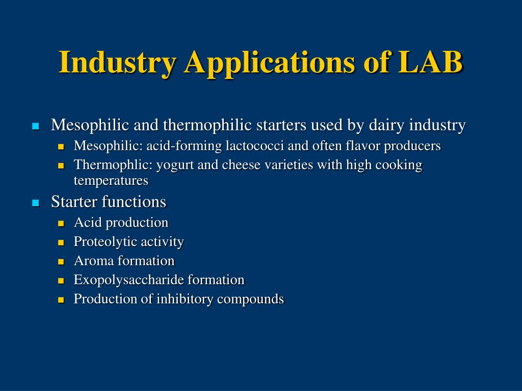 Industry Applications of LAB