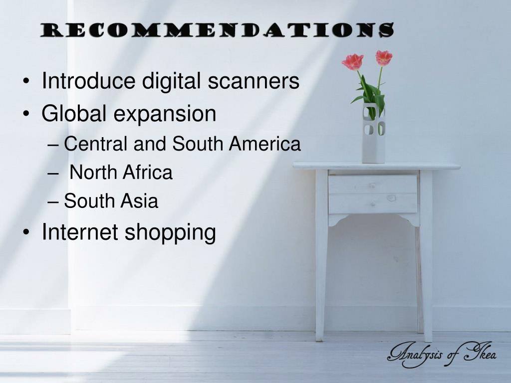 Introduce digital scanners