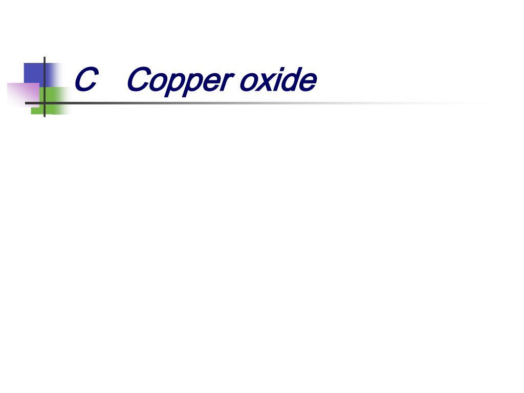 CCopper oxide