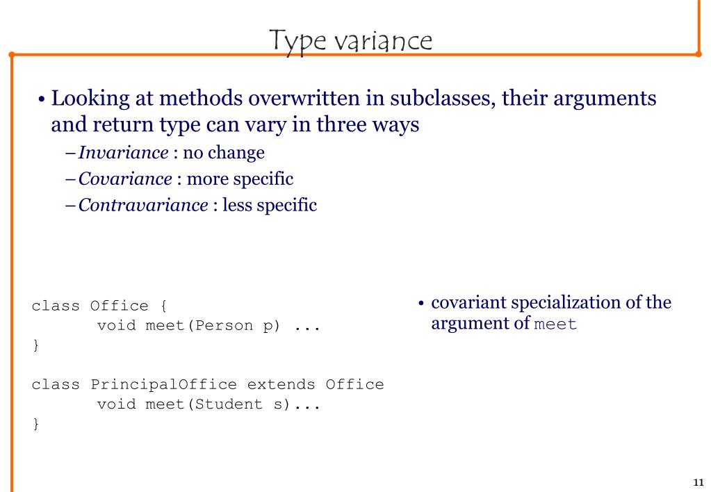 Type variance