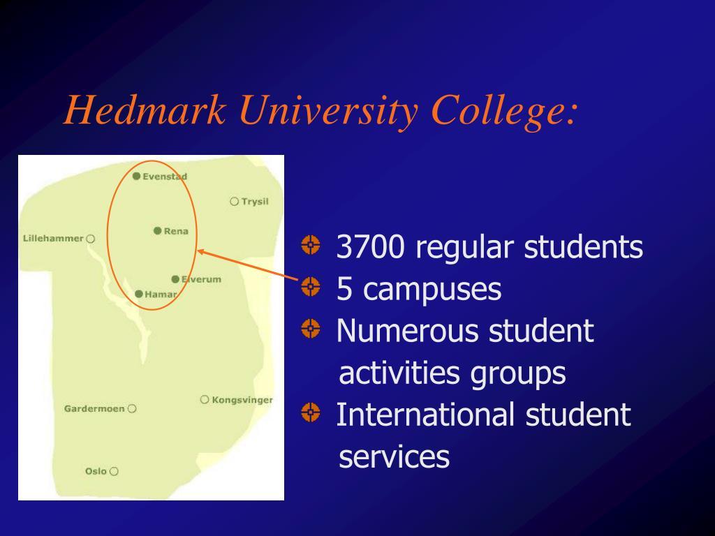 Hedmark University College: