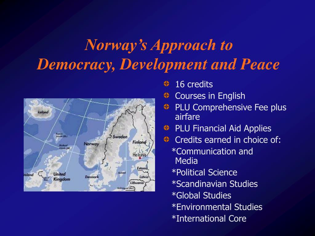 Norway's Approach to