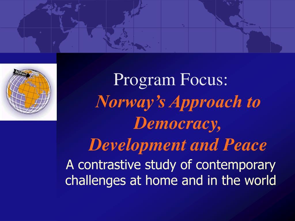 Program Focus: