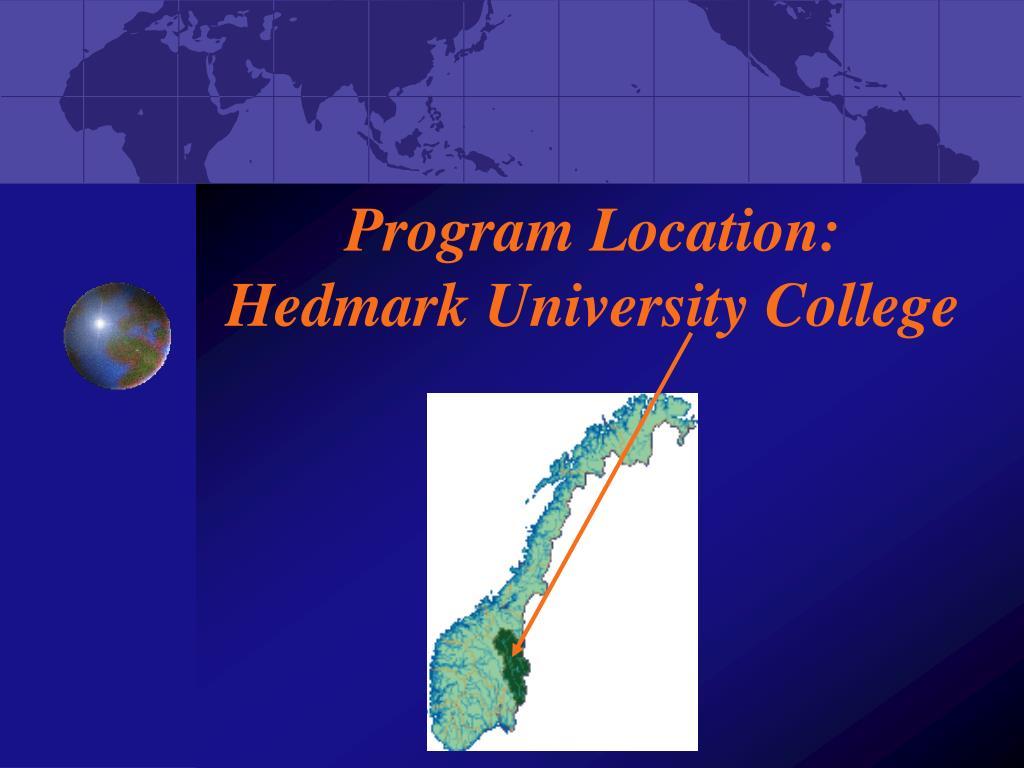 Program Location:
