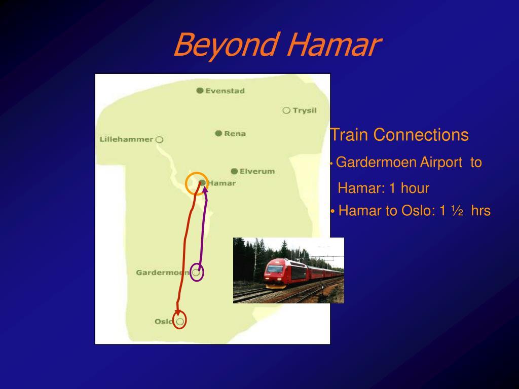 Beyond Hamar