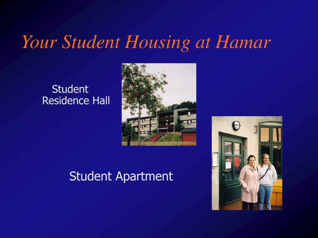 Your Student Housing at Hamar