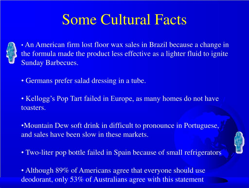 Some Cultural Facts