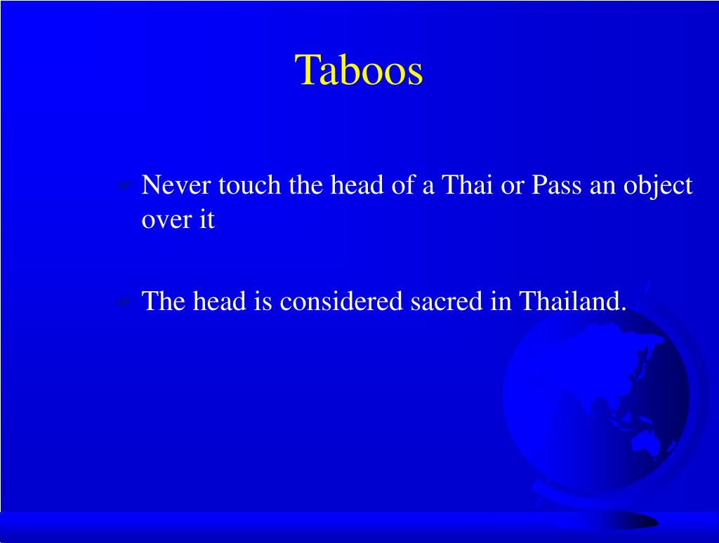 Taboos