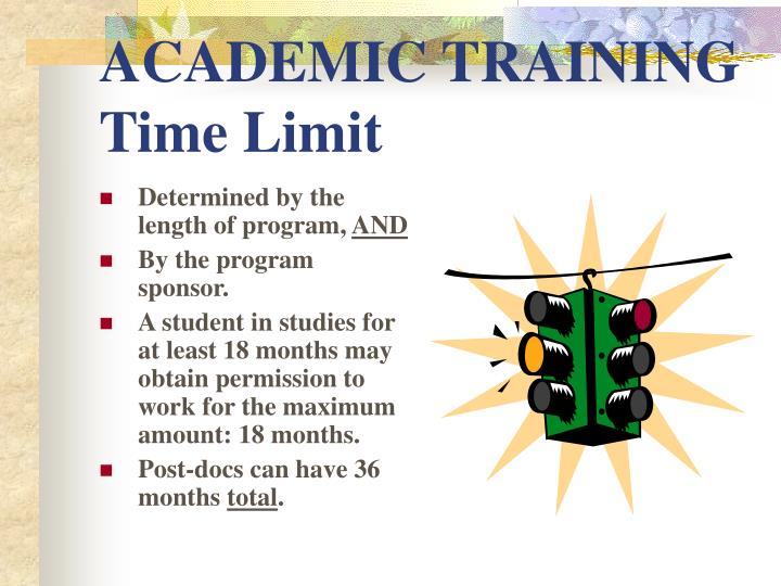 ACADEMIC TRAINING Time Limit