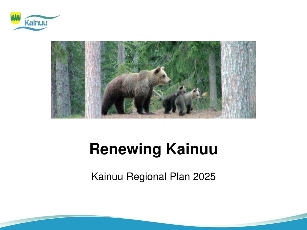 Renewing Kainuu