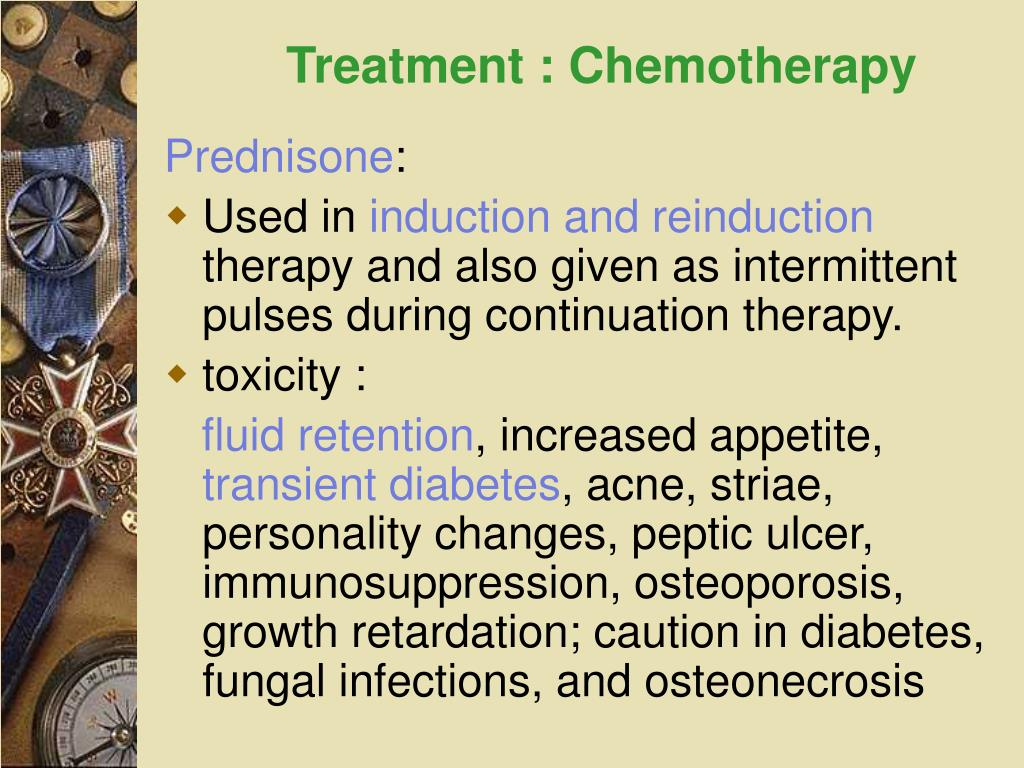 Treatment : Chemotherapy