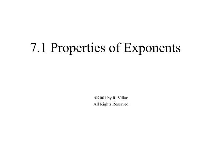 7 1 properties of exponents