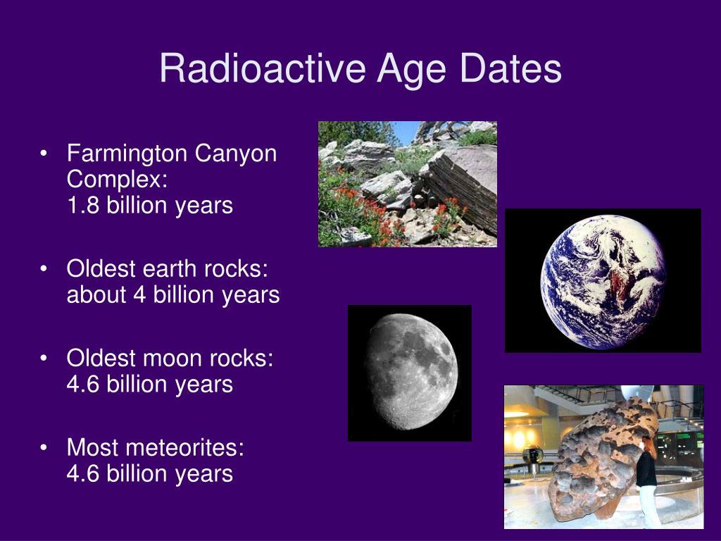 Radioactive Age Dates