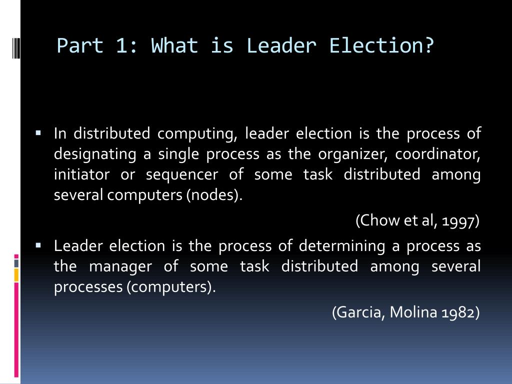 Part 1: What is Leader Election?