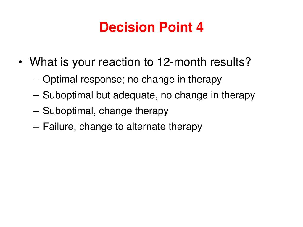 Decision Point 4