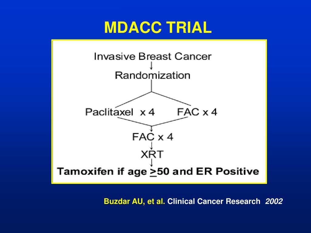 MDACC TRIAL