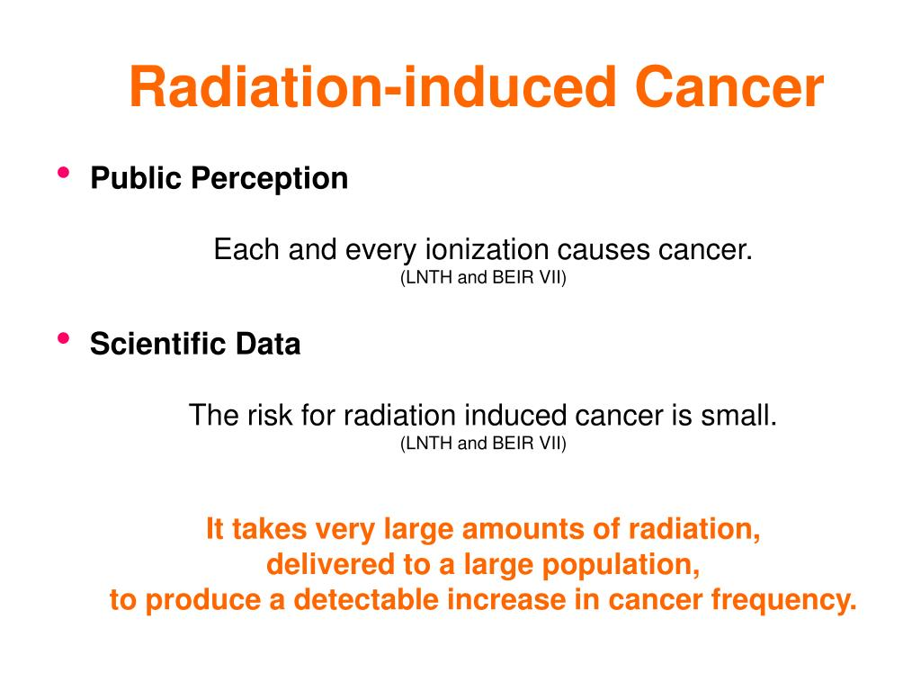 Radiation-induced Cancer