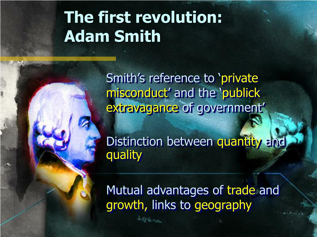 The first revolution:
