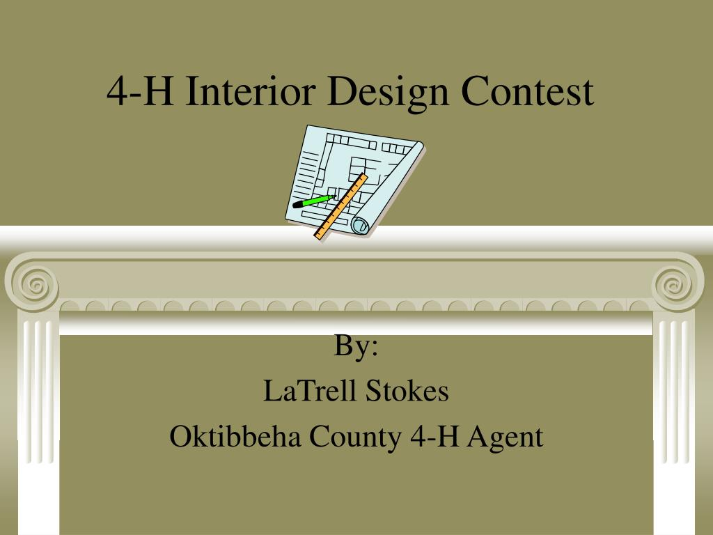 4-H Interior Design Contest