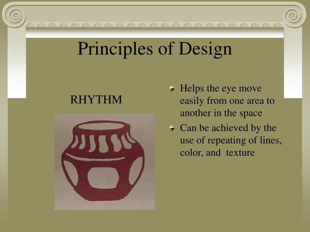 Helps the eye move easily from one area to another in the space