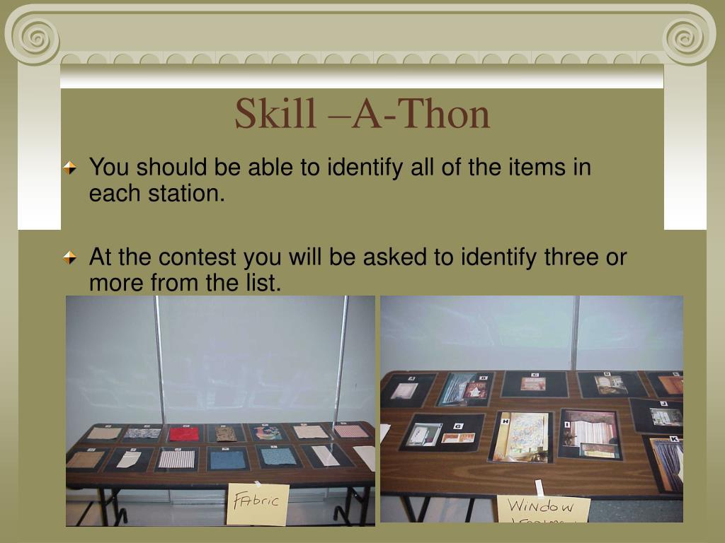 Skill –A-Thon