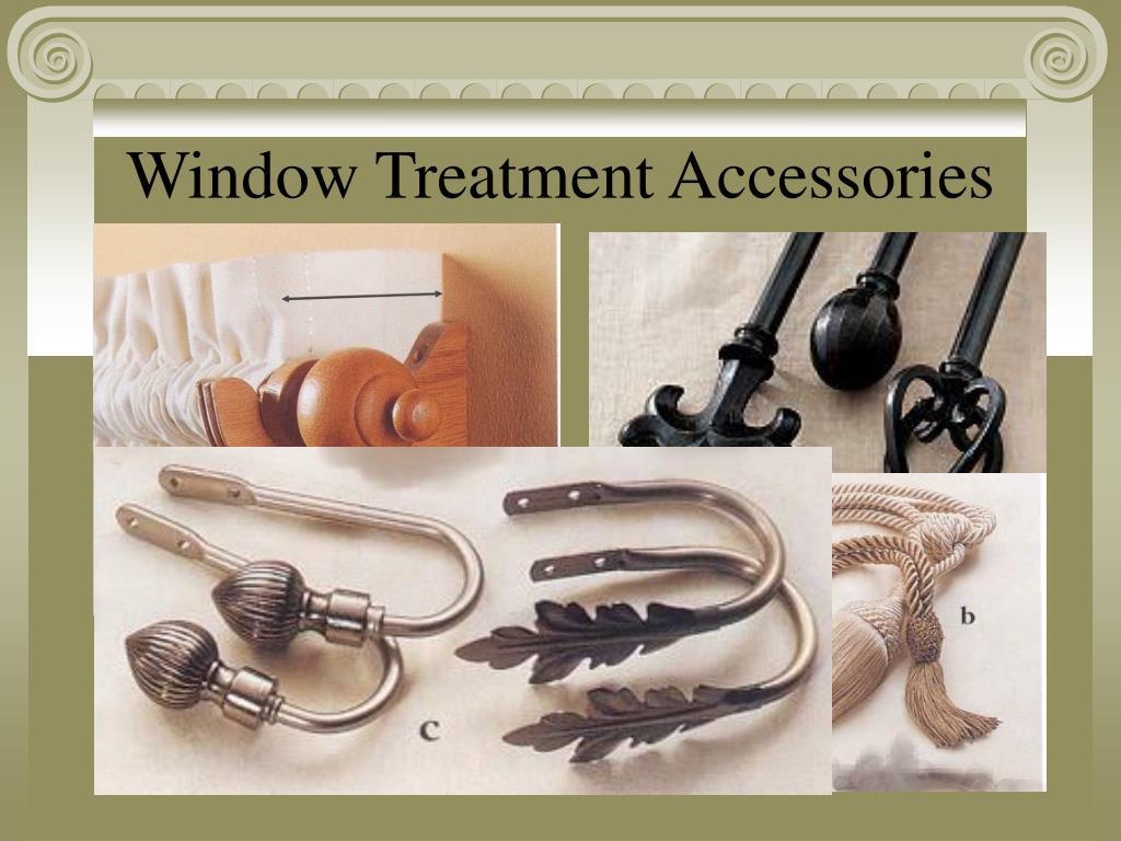 Window Treatment Accessories