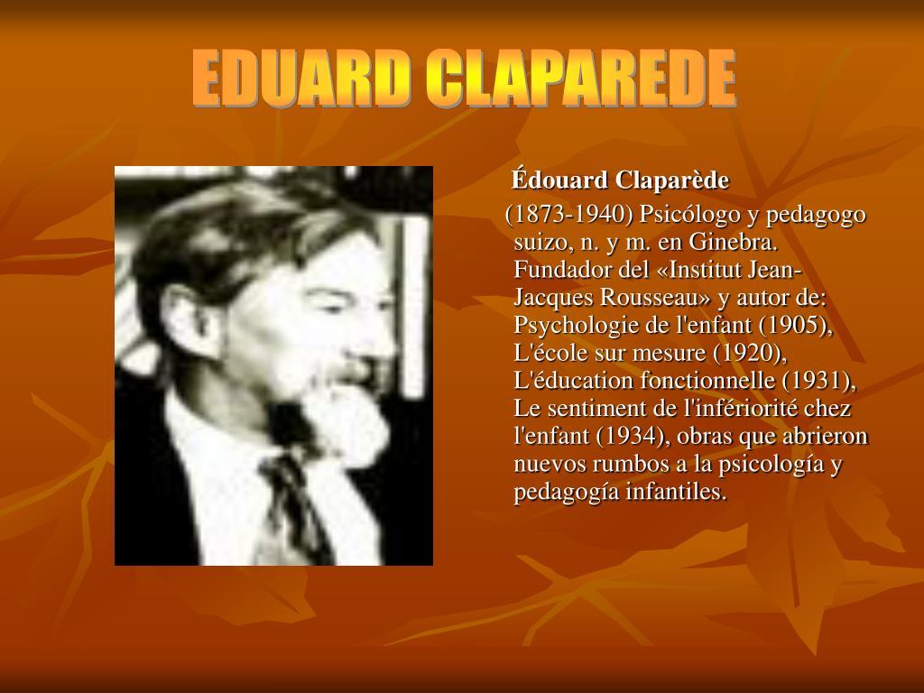 EDUARD CLAPAREDE